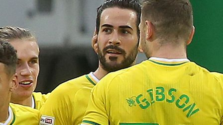 Mario Vrancic saved the day for Norwich against Wycombe Picture: Paul Chesterton/Focus Images