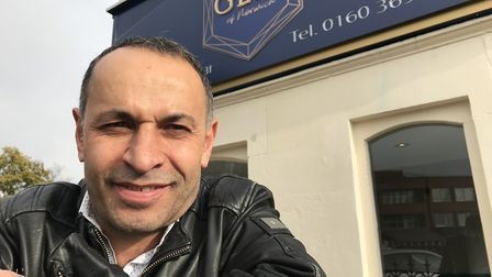 Cemal Alby, owner of the Gem of Norwich restaurant in Thorpe Road. Picture: Lauren De Boise.
