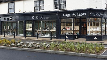 Cox's Jewellers on Northgate Street in Great Yarmouth. Picture: Michael Cox.
