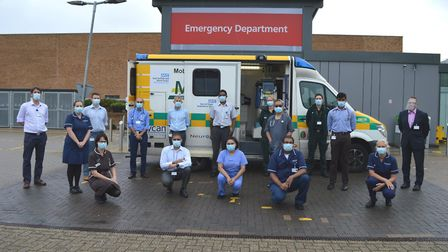 The Norfolk and Norwich University Hospital and the East of England Ambulance Trust have launched a