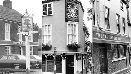 Royal Oak Sprowston/The Ironmongers Arms/Fruiterers Arms. Picture: Archant library