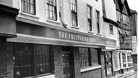 The Fruiterers Arms, on White Lion Street in 1991 is now a W. H. Smith Photo: Archant