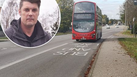 Gary Blundell has launched a petition to open the bus lane on Dereham Road in Norwich to traffic out