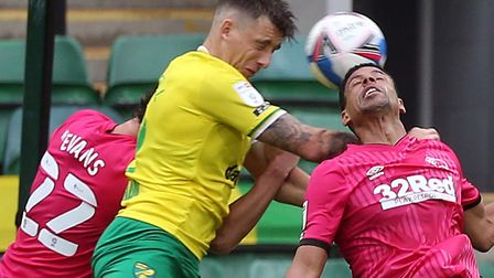 Jordan Hugill makes his first start for Norwich Picture: Paul Chesterton/Focus Images