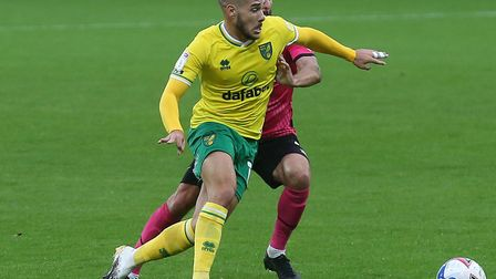 Can Emi Buendia work his magic at Rotherham for the Canaries? Picture: Paul Chesterton/Focus Images