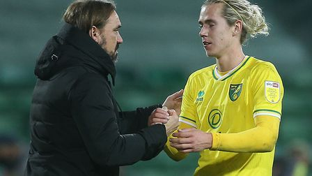 Daniel Farke was pleased with Todd Cantwell's comeback in Norwich City's 1-0 Championship win over R