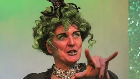 Loraine Metcalfe plays the Sorceress in the panto Rapunzel, which will be streamed online, and also