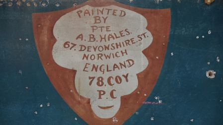 The hunt is on to find the family of Alfred Bertie Hales, from Norwich, who painted the murals. Pict