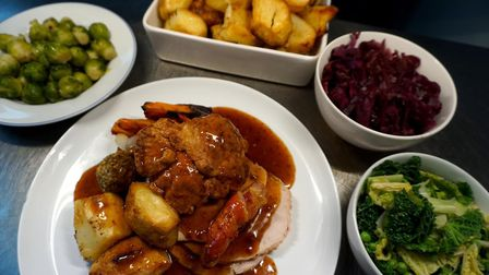 Roast dinner and all the trimmings from OffSeasons Picture: Contributed