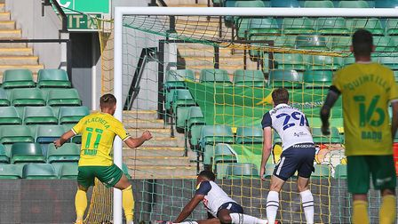 Placheta missed a sitter against Preston before scoring the equaliser. Picture: Paul Chesterton/Foc