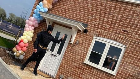 Batman will be helping the Tiger Tuck Shop to deliver sweets to homes around Thetford on Halloween.