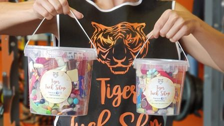 The Tiger Tuck Shop, a sweet delivery service in Thetford. Photo: Richard Taylor