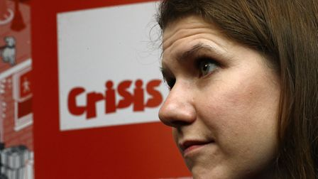 Liberal Democrat leader Jo Swinson during a roundtable on homelessness at Crisis' Skylight Centre in