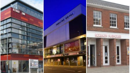 Stage Two, Norwich Theatre Royal and Norwich Playhouse are all run by Norwich Theatre Credit: Left a