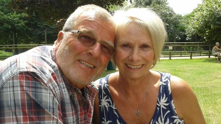 Ann and Ken Brown, who had to cancel their trip to Swansea after local lockdowns were introduced in