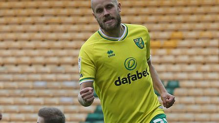 Teemu Pukki fired Norwich ahead in just the third minute against Wycombe Picture: Paul Chesterton/F