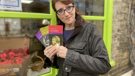 Corinne Fulford from the Leaping Hare information hub in Thetford. Photo: Emily Thomson