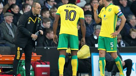 The pair played together at Norwich City. Picture: Paul Chesterton/Focus Images Ltd