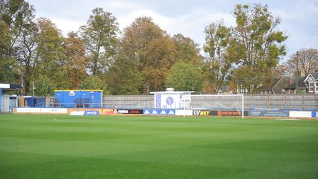 The Walks was deserted for King's Lynn Town's big opening day game against Yeovil Picture: Tony Thru