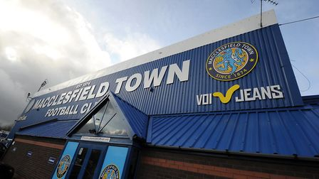 Macclesfield Town - how many other clubs will go to the wall? Picture: PA
