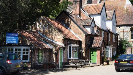 The Buck Inn on Yarmouth Road in Thorpe St Andrew. Photo: Denise Bradley