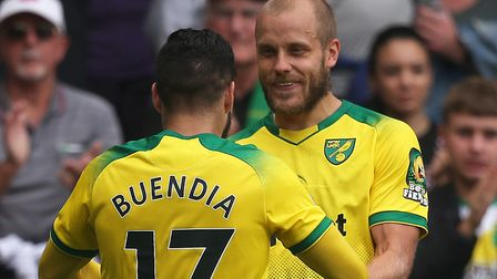 Teemu Pukki and Emi Buendia forged a deadly double act in the Championship for Norwich City two seas