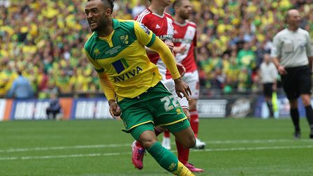 Nathan Redmond was on target as Norwich City capped a whirlwind period under Alex Neil with promotio