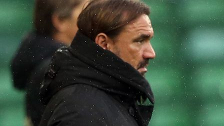 City head coach Daniel Farke is ready to go with what he has at centre back. Picture: Paul Chesterto