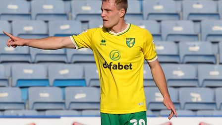 England U21 midfielder Oliver Skipp is spending this season on loan at Norwich City from Tottenham H