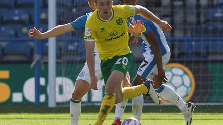 Oliver Skipp has played every minute of Norwich City's Championship season so far Picture: Paul Che