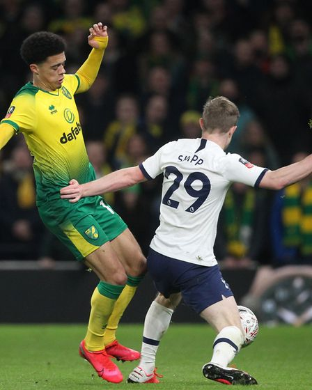 Skipp in FA Cup action for Tottenham against Norwich earlier this year Picture: Paul Chesterton/Foc
