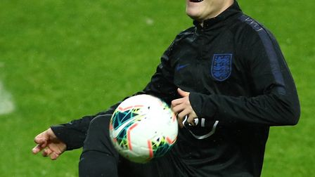 Oliver Skipp is in line to start for England U21s against Turkey at Molineux on Tuesday Picture: Tim