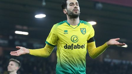 Mario Vrancic remains a big option for Daniel Farke at Norwich City Picture by Paul Chesterton/Focus