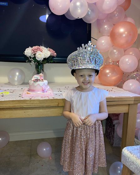 Sofia Honey Adcock has received support from her TV idols the Faiers who bought her a crown which re