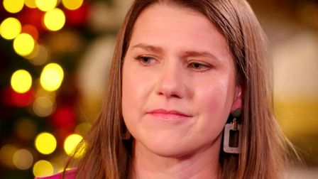 Jo Swinson smiled and held back tears as she explained how her late father's memory drives her on in