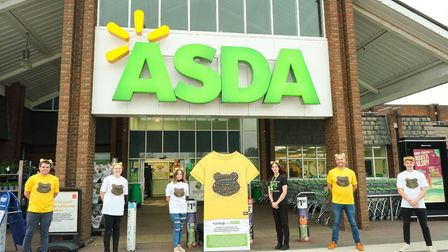 Youngsters who attend the Garage Trust in Norwich have designed t-shirts for Children in Need. Pictu