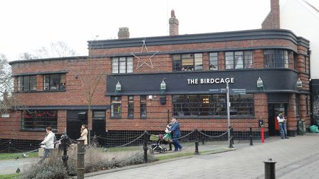 The Birdcage at the Green at St Gregory's Alley at Norwich Lanes. Picture: Denise Bradley