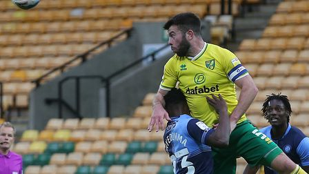 Norwich City captain Grant Hanley has been included in the Championship Team of the Week. Picture: