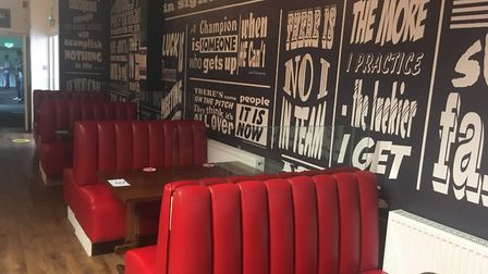 The bar at The Jube in Great Yarmouth has been transformed to boost the food offer with a diner feel