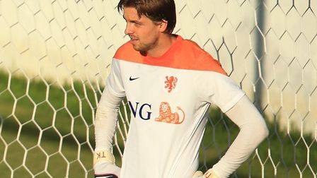 Norwich City number one Tim Krul was back in the Holland jersey for the defeat to Mexico Picture: Mi