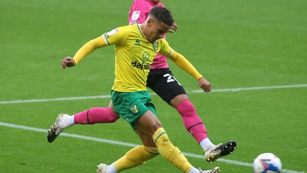 Max Aarons has played every minute of Championship action for Norwich City since relegation from the