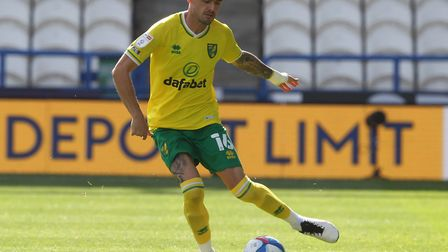 Xavi Quintilla offers an attacking outlet down the left for Norwich City Picture: Paul Chesterton/Fo