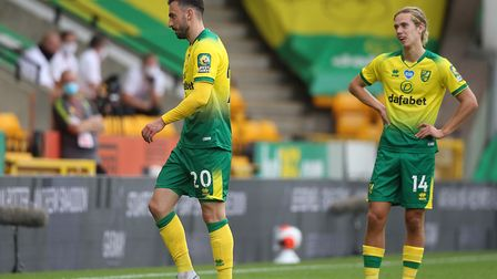 Josip Drmic hasn't got a future at Carrow Road. Picture: Paul Chesterton/Focus Images