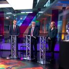Channel 4's climate change debate. Photograph: Channel 4.