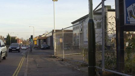 File picture of Dereham Road in Norwich where Marcello Carvalho is accused of having carried out an