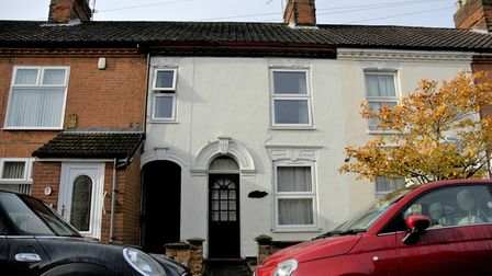 72 Glebe Road in Norwich where a postcard dating back a century weas delivered addressed to Miss Eva