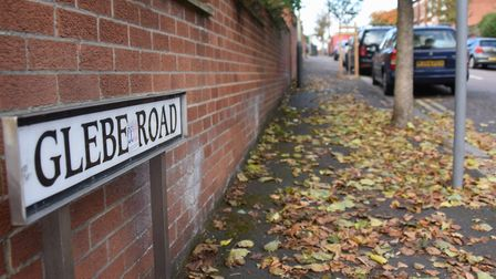 Glebe Road in Norwich is made up of Victorian terraced houses. Picture: Simon Parkin