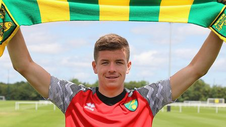 Charlie Gilmour has been released by Norwich City. Picture: Norwich City FC