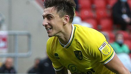 Jordan Hugill celebrates after scoring the late winner at Rotherham Picture: Paul Chesterton/Focus I