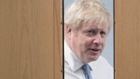 Prime Minister Boris Johnson visits West Cornwall Community Hospital, in Penzance, Cornwall, whilst